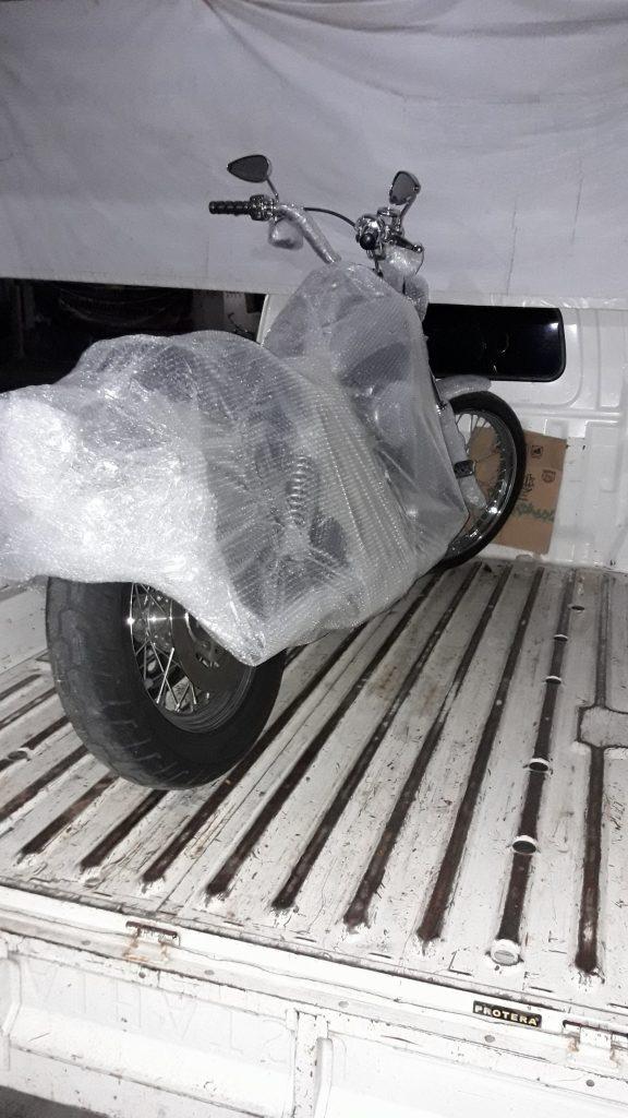 Jasa pengiriman motor Jogja